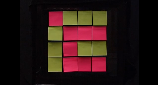 Das Killer-Post-It-Spiel