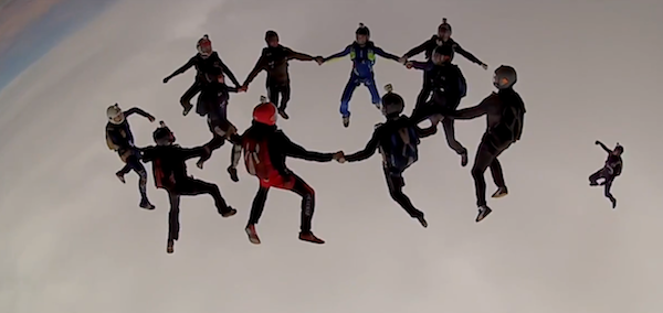 Tj Landgren Skydive Jump Extremesport