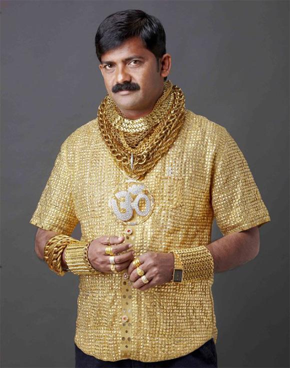Gold-Shirt