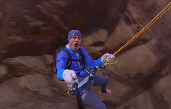 Insane Rope Swing