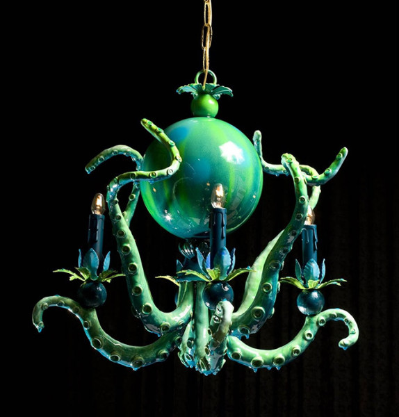 Octopus-Chandeliers-by-Adam-Wallacavage