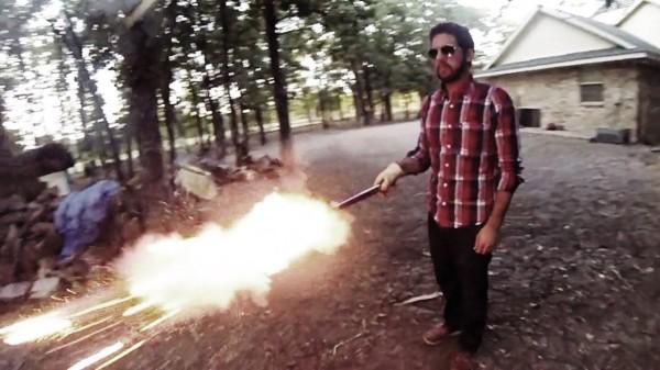 Bullet Time Feuerwerk
