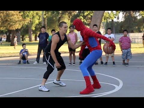 Spiderman kann nicht nur klettern…