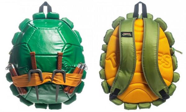 Teenage-Mutant-Ninja-Turtle-Shell-Backpacks
