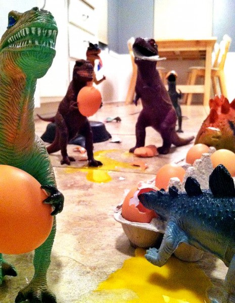 Parents-Bring-Toy-Dinosaurs-To-Life-For-Dinovember-2