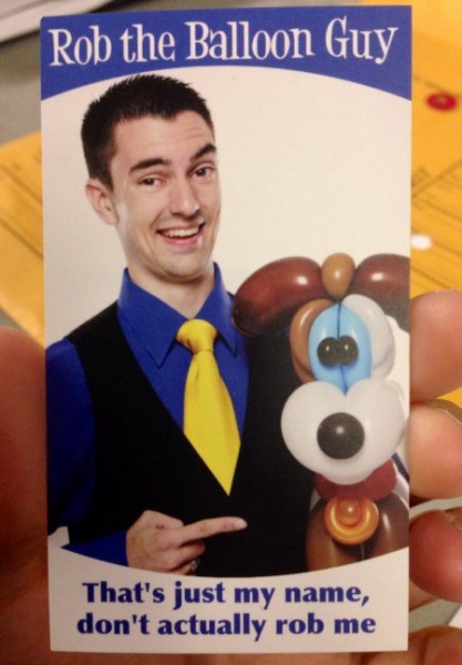 small_balloon guy business card