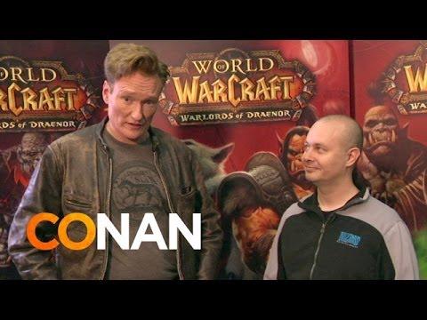 Conan O'Brian bei der BlizzCon 2013