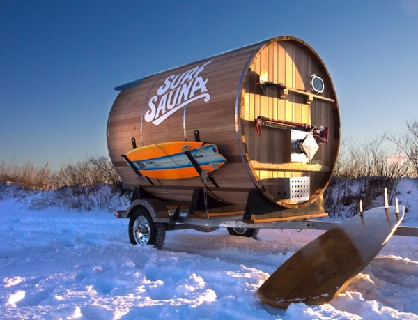 Surf-Sauna