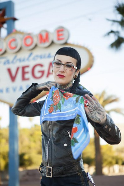 Model: Sarah, Photography: David Biene, location: Las Vegas + Mojave Desert