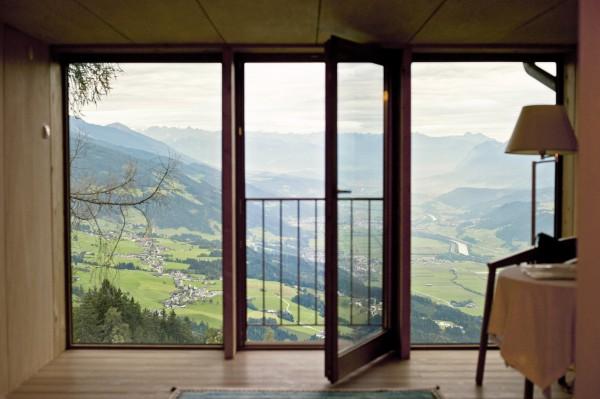 Hotel Grafenast, Pill,  mit Blick ins Inntal