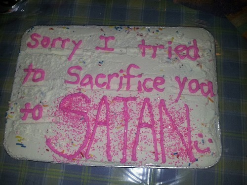 sacrificew-to-satan