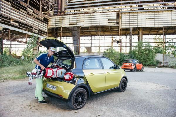 Golfsport/ smart urban golf, Mailand, 23.09.2014