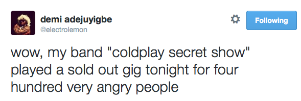 coldplay-secret-show