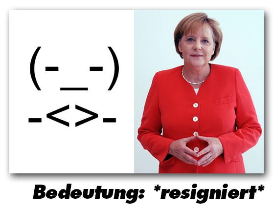 resigniert