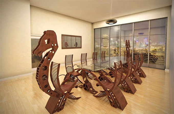 Viking-Longboat-Conference-Table
