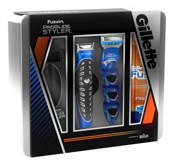Gillette Fusion ProGlide Styler Geschenkset