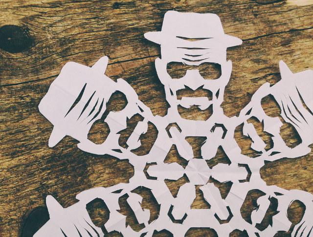 heisenberg-paper-snowflake