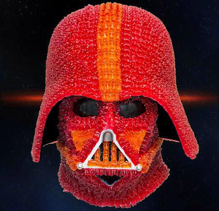 Darth-Vader-s-Helmet-Made-Of-Gummy-Bears