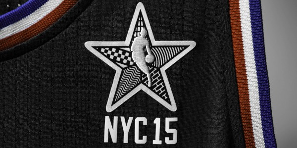 adidas NBA All-Star 2015 West Jersey, Front Patch, H