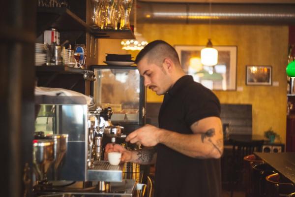 Espresso bei Ruben & Carla in Berlin
