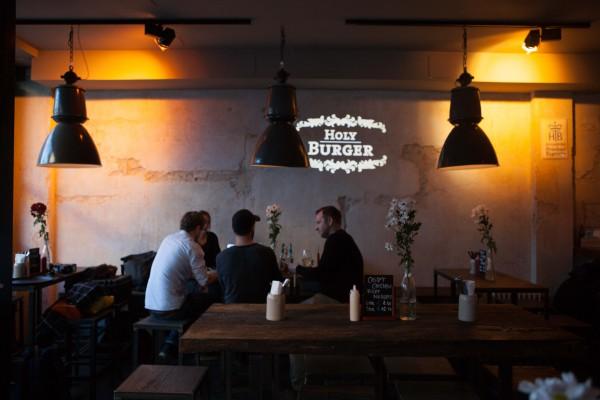 Ziemlich cooler Laden – Holy Burger in München