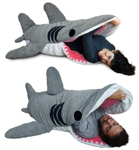 small_shark_sleeping_bag