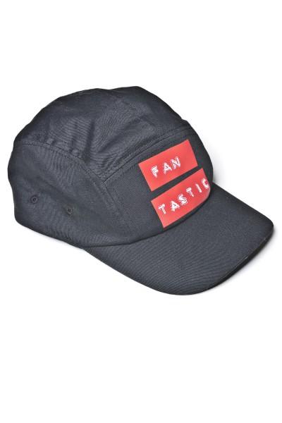 Five Panel Cap Fan Tastic Black 0126