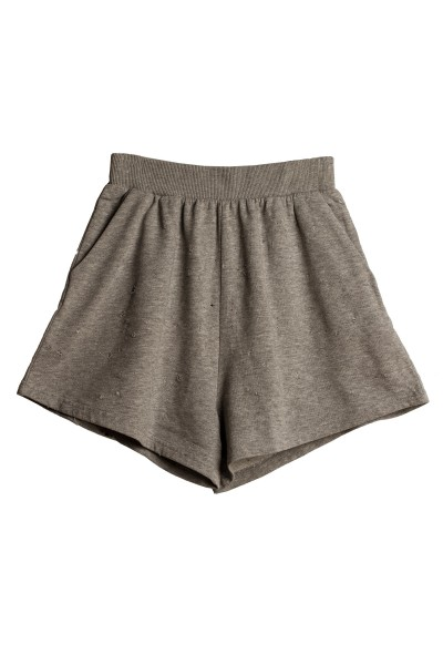 Trash Shorts Pre Grey Melange