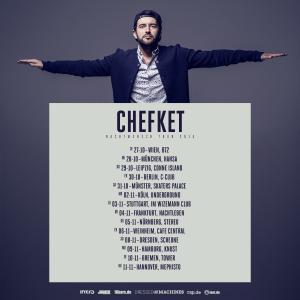 Chefket - Flyer Nachtmensch Tour 2015