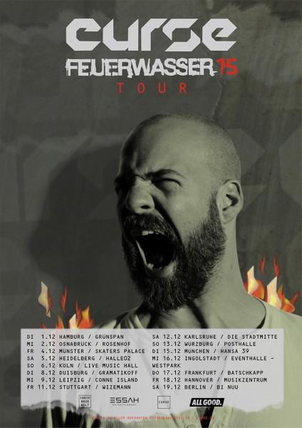 Curse Feuerwasser Tour 2015 Web