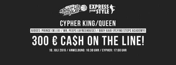 Express Your Style Battle Samstag