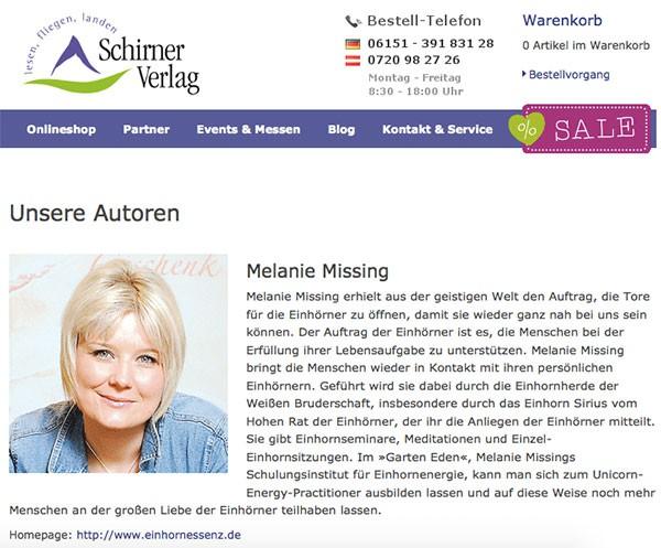 Melanie-Missing