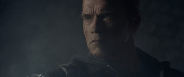 Arnold Schwarzenegger plays the Terminator in Terminator Genisys from Paramount Pictures and Skydance Productions.