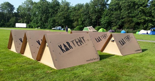 KarTent-Is-a-Cardboard-Tent-Designed-For-Music
