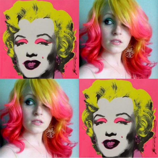 She-Colors-Hair-to-Match-famous-works-of-art-5