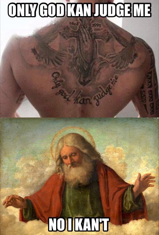 via Tattoofrei- Es ist schön, keine Tattoos zu haben