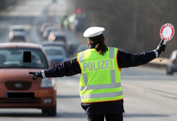 Verkehrskontrolle der Dortmunder Polizei.