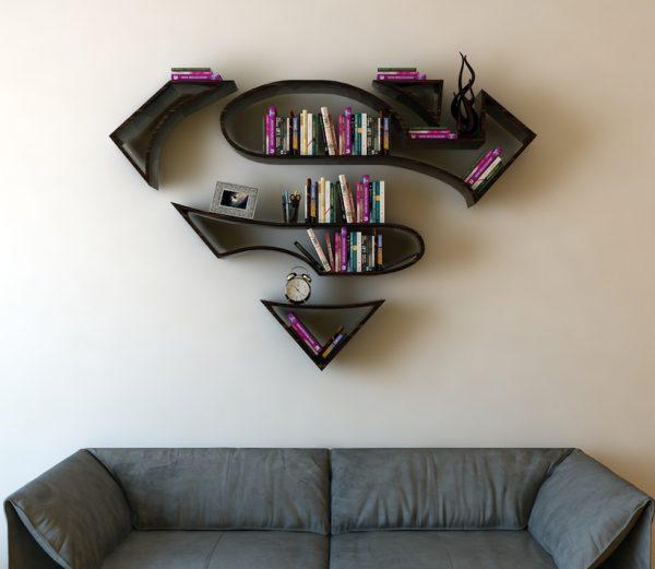 Bookshelves_Shaped_Like_Superhero_Logos_by_Burak_Dogan_2016_03