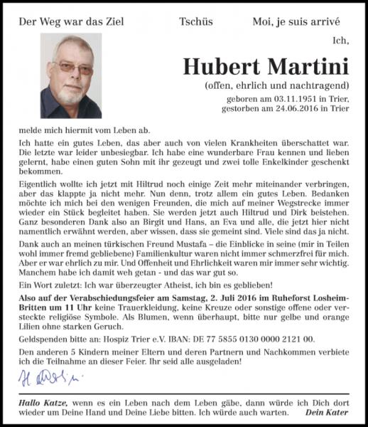 hubert_martini_traueranzeige
