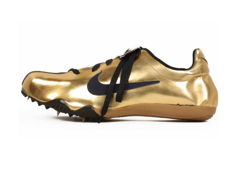 Nike Gold Track Spikes