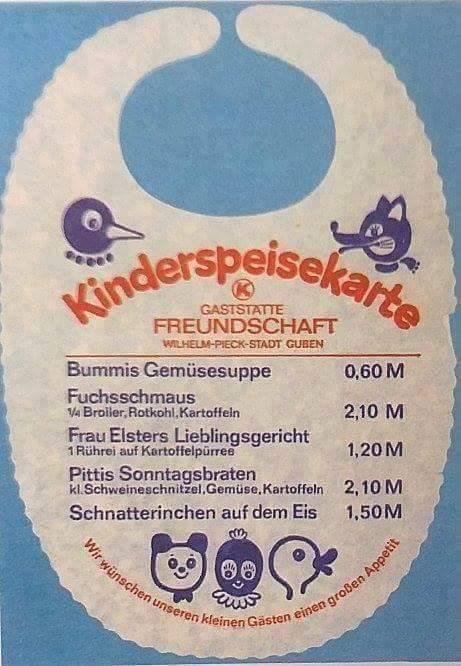 kinderspeisekarte