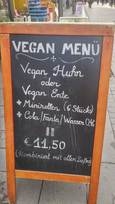vegan-menue