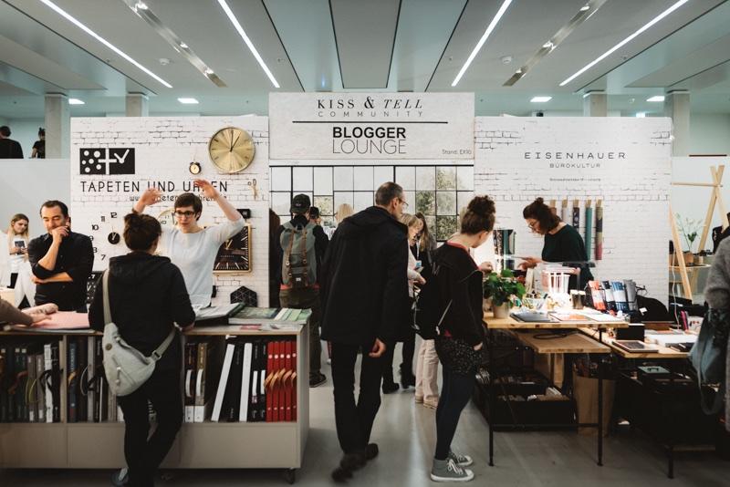 Designers' Open 2017 Bloggerlounge Kiss & Tell